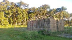 Chambre en bambou Photos libres de droits