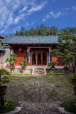 Chambre en bois Lijiang, cour de Yunnan Images stock