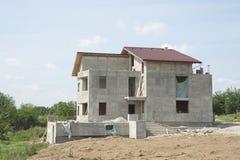 Chambre en construction Image libre de droits