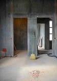 Chambre en construction image stock