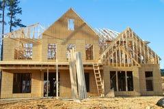 Chambre en construction Images stock