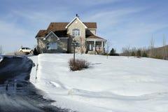 Chambre en hiver Photo libre de droits