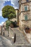 Chambre en pierre en Toscane Photographie stock