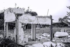 Chambre en ruines Images stock