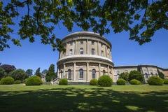 Chambre et jardins d'Ickworth en le Suffolk Images libres de droits
