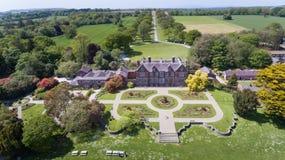Chambre et jardins de Wells Wexford l'irlande images stock