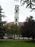 Chambre et rue dans Kosovo Photo stock