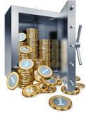 Chambre forte de banque Photos stock