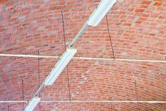 Chambre forte de baril d'un bâtiment utilisé comme entrepôt photographie stock libre de droits