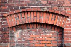 Chambre forte de brique photographie stock