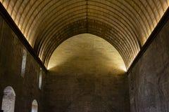 Chambre forte intérieure médiévale Image libre de droits
