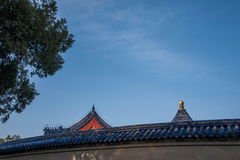 Chambre forte royale de parc de Pékin Tiantan Images libres de droits
