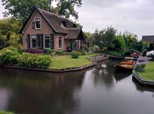 Chambre Giethoorn Image stock