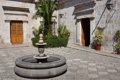 Chambre historique à Arequipa photos stock