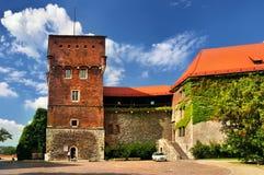 Chambre historique à Cracovie Images libres de droits