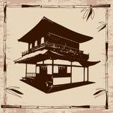 Dessin japonais de maison photos libres de droits image for Chambre type japonaise