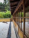 Chambre japonaise de jardin de thé images libres de droits