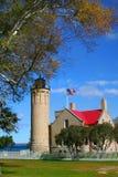 Chambre légère de Mackinac Images libres de droits