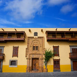 Chambre Las Palmas Gran Canaria de Columbus Images libres de droits