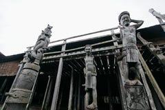 Chambre le Kalimantan Oriental de Lamin photos stock