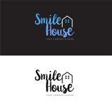 Chambre Logo Design Template et icône de Chambre Photo libre de droits