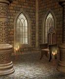 Chambre médiévale 2 illustration de vecteur