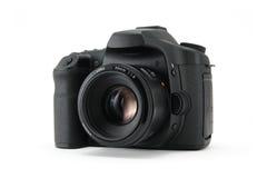 Chambre noire de DSLR. photographie stock