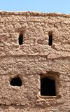 Chambre omanaise de brique de boue de Tradtional Photos stock