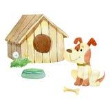 Chambre pour des chiens Image stock
