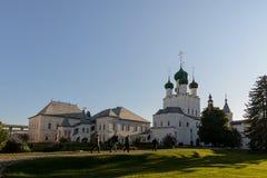 Chambre rouge en Rostov Kremlin images libres de droits