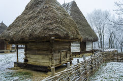 Chambre roumaine rustique Images libres de droits