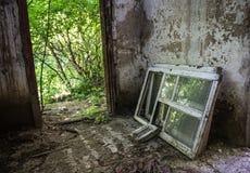 Chambre ruinée Photo libre de droits