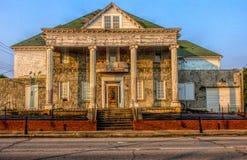 Chambre rustique et vieille dans Fort Smith, Arkansas photos libres de droits
