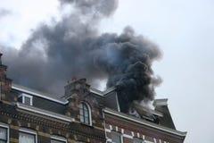 Chambre sur l'incendie Photo libre de droits