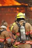 Chambre sur l'incendie Images stock