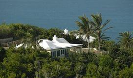 Chambre sur la côte des Bermudes Images stock