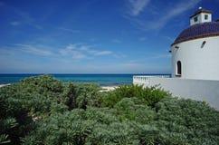 Chambre sur la plage Images stock