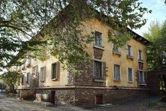 Chambre sur la rue de Mendeleev dans la ville de Magnitogorsk, Russie image stock