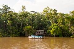 Chambre sur le côté de rivière Images libres de droits