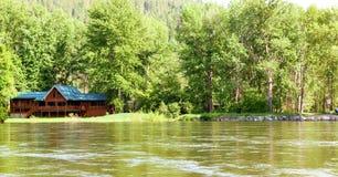 Chambre sur le fleuve Photo stock