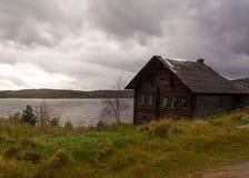 Chambre sur le lac Photographie stock