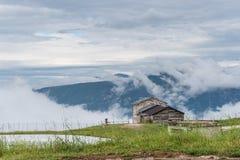 Chambre sur les montagnes Photos stock