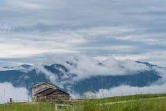 Chambre sur les montagnes Image libre de droits