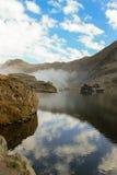 Chambre sur un lac Photo libre de droits