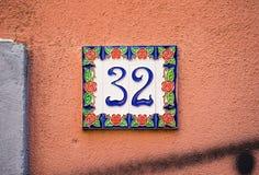 Chambre 32 terres d'ombre Photos stock