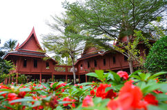 Chambre thaïe Photos libres de droits