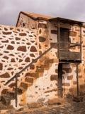 Chambre traditionnelle de ferme des Îles Canaries Photo libre de droits