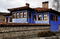 Chambre traditionnelle de Koprivshtitsa photos libres de droits
