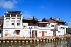 Chambre traditionnelle de rive de la Malaisie photo libre de droits