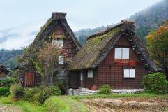 Chambre traditionnelle du Japon dans Shirakawago Images stock